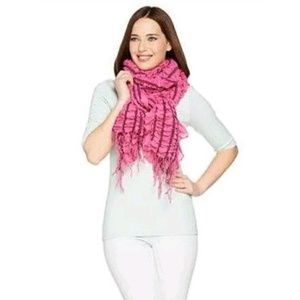 Layers By Lizden Smocked Wrap With Ruffled Edge